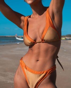 Triangle Bikini Gold